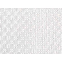 Coupon broderie anglaise motif feuilles, 45x60cm