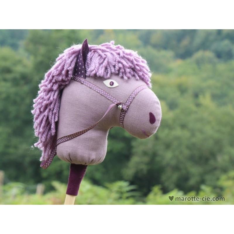 kit cheval baton violet en vente chez marotte et cie. Black Bedroom Furniture Sets. Home Design Ideas